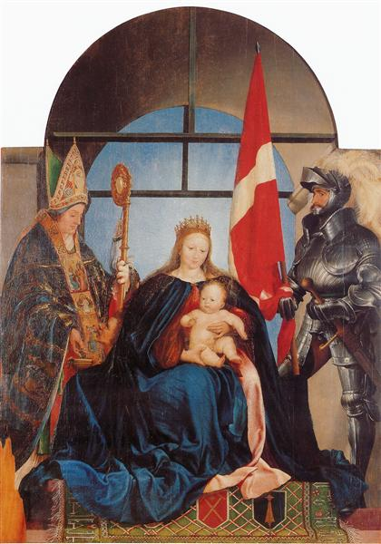 The Solothurn Madonna, 1522 - Hans Holbein the Younger