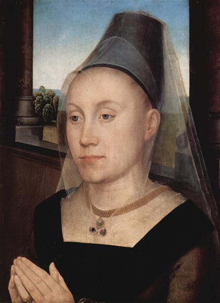 Barbara de Vlaenderberch, c.1470 - c.1472 - Hans Memling
