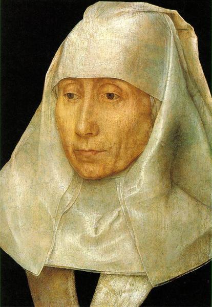 Portrait of an Old Woman, 1468 - 1470 - Hans Memling