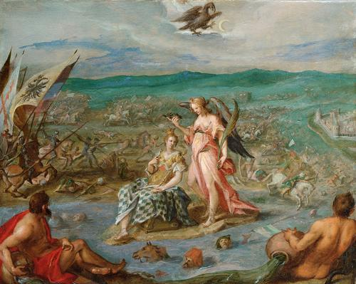 Allegory on the battle of Sisak, 1604
