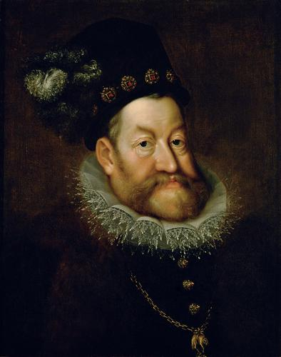 Portrait of Rudolf II, Holy Roman Emperor, 1608