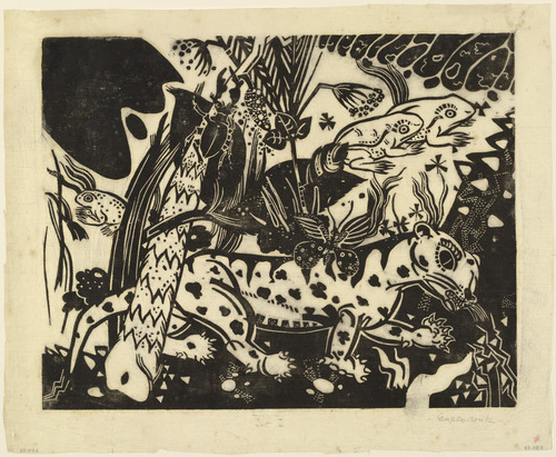 The Tiger, 1916 - Heinrich Campendonk