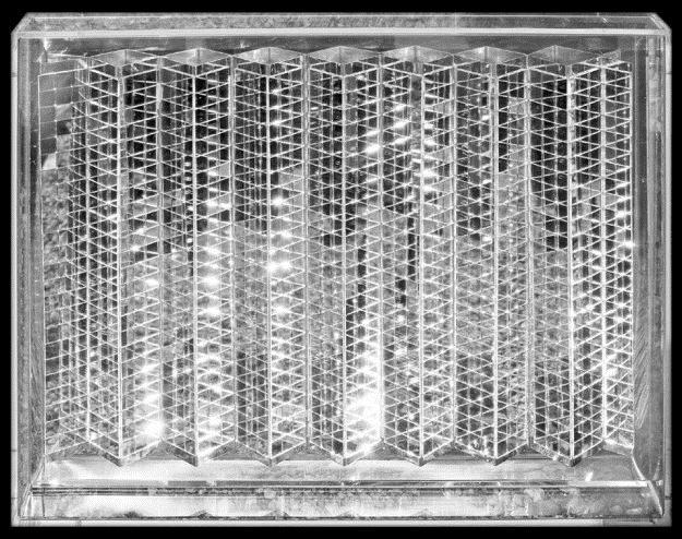 Relief mit Spiegelquadraten, 1966 - Мак Хайнц