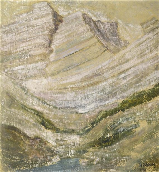Mountain landscape, 1941 - Хелен Дагм
