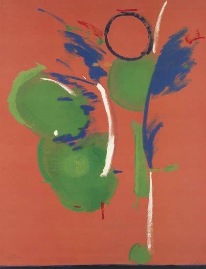 Mary, Mary, 1987 - Helen Frankenthaler