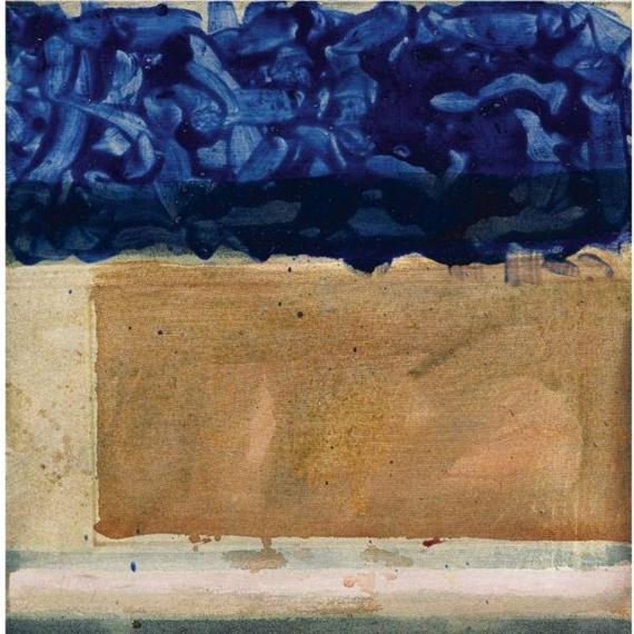 Shoreline, 1952 - Helen Frankenthaler