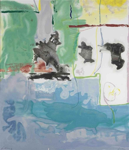 West Wind, 1997 - Helen Frankenthaler