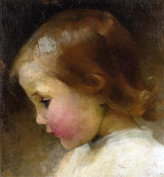 Portrait of a Girl - Helene Schjerfbeck
