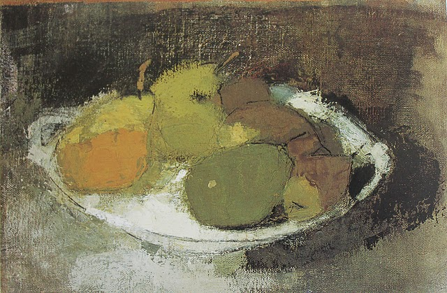 Still Life in Green, 1930 - Helene Schjerfbeck