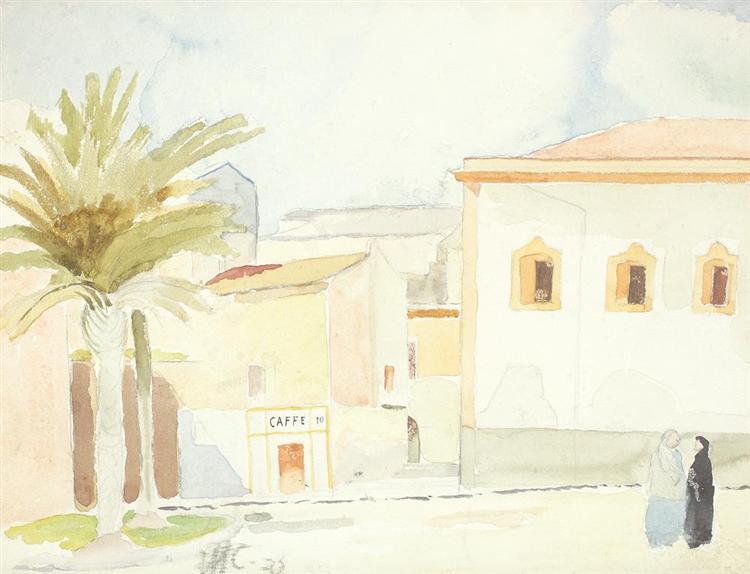 Mediteraneean Landscape, 1932 - Henri Catargi