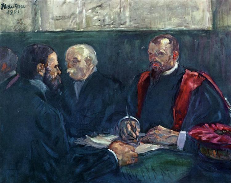 An Examination at the Faculty of Medicine, Paris, 1901 - Henri de Toulouse-Lautrec