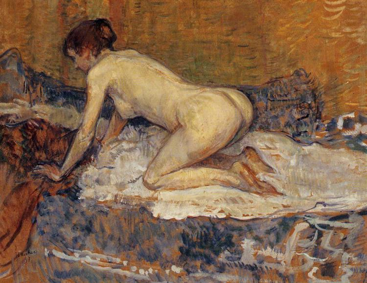 crouching woman with red hair 1897.jpg!Large Feminist Approach to Body Positivity Is Actually Really Condescending