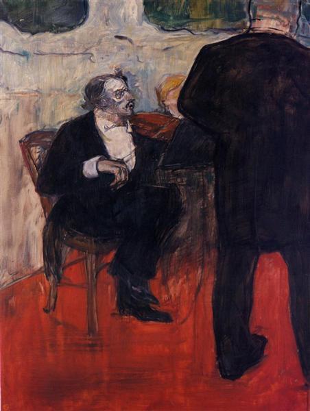 The Violinist Dancia, 1900 - Анри де Тулуз-Лотрек