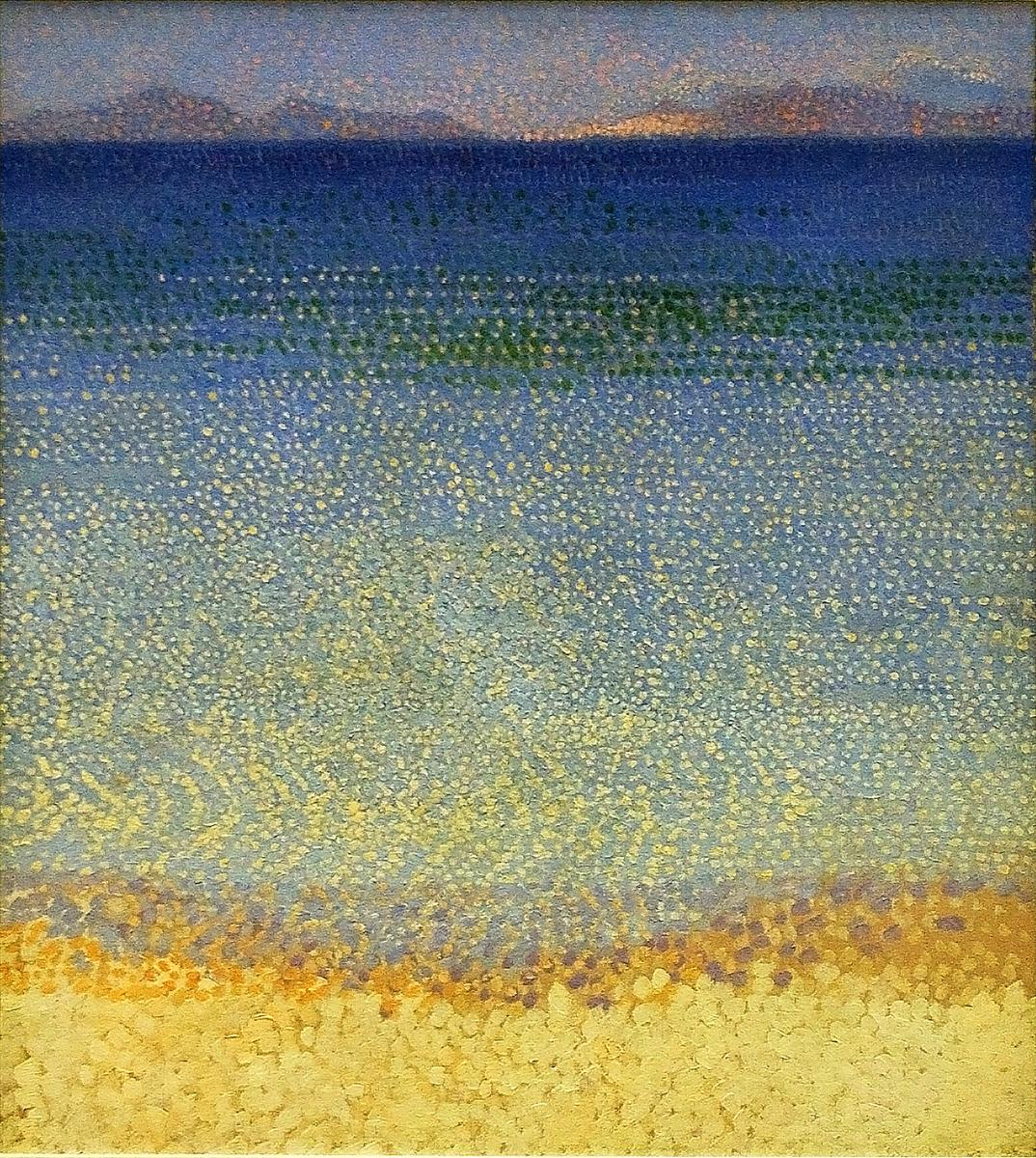 The Illes d'Or, Henri-Edmond Cross, 1892