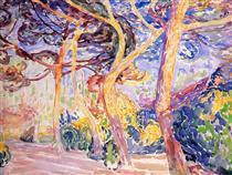 Under the Pines - Henri-Edmond Cross