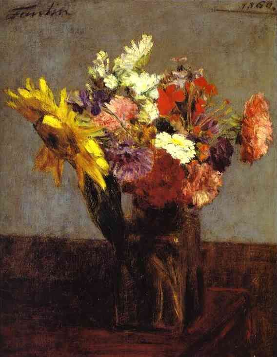 bouquet of flowers 1860 henri fantin latour. Black Bedroom Furniture Sets. Home Design Ideas