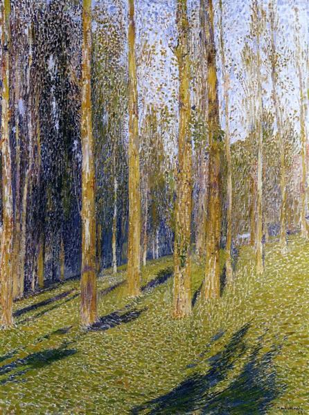 Forest, 1895 - Henri Martin