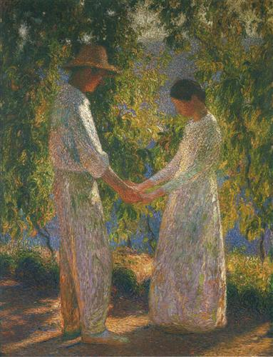 The Lovers - Henri Martin
