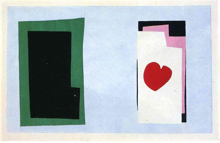 The Heart, 1943 - Henri Matisse