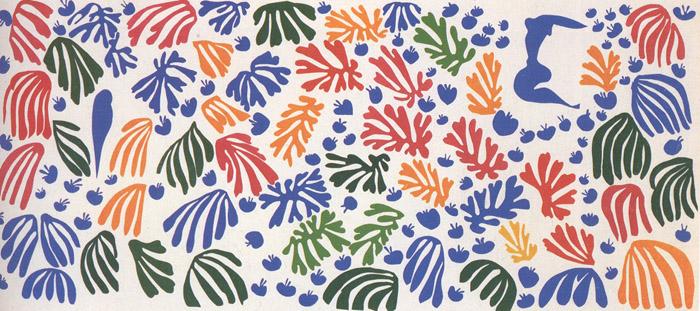 La Perruche et la Sirene, 1952 - Henri Matisse