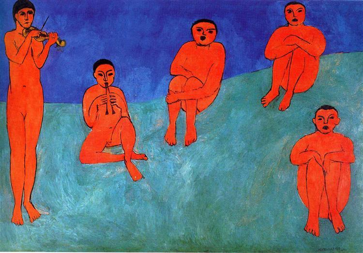 Music, 1910 - Henri Matisse