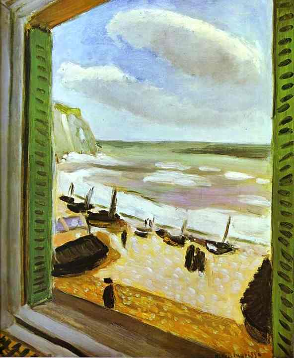 Open window at collioure 1905 henri matisse for Matisse fenetre