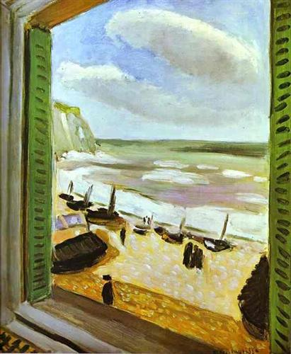 henri matisse the window france 1916 essay Joy of life (bonheur de vivre), 1905 by henri  landscapes in the south of france during the summer and worked up ideas  henri matisse or his.