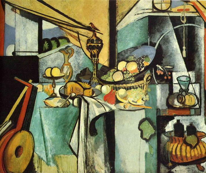 Still Life after de Heem's 'La Desserte', 1915 - Анри Матисс