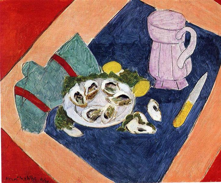 """""""Still Life with Oysters"""" (1940)"""