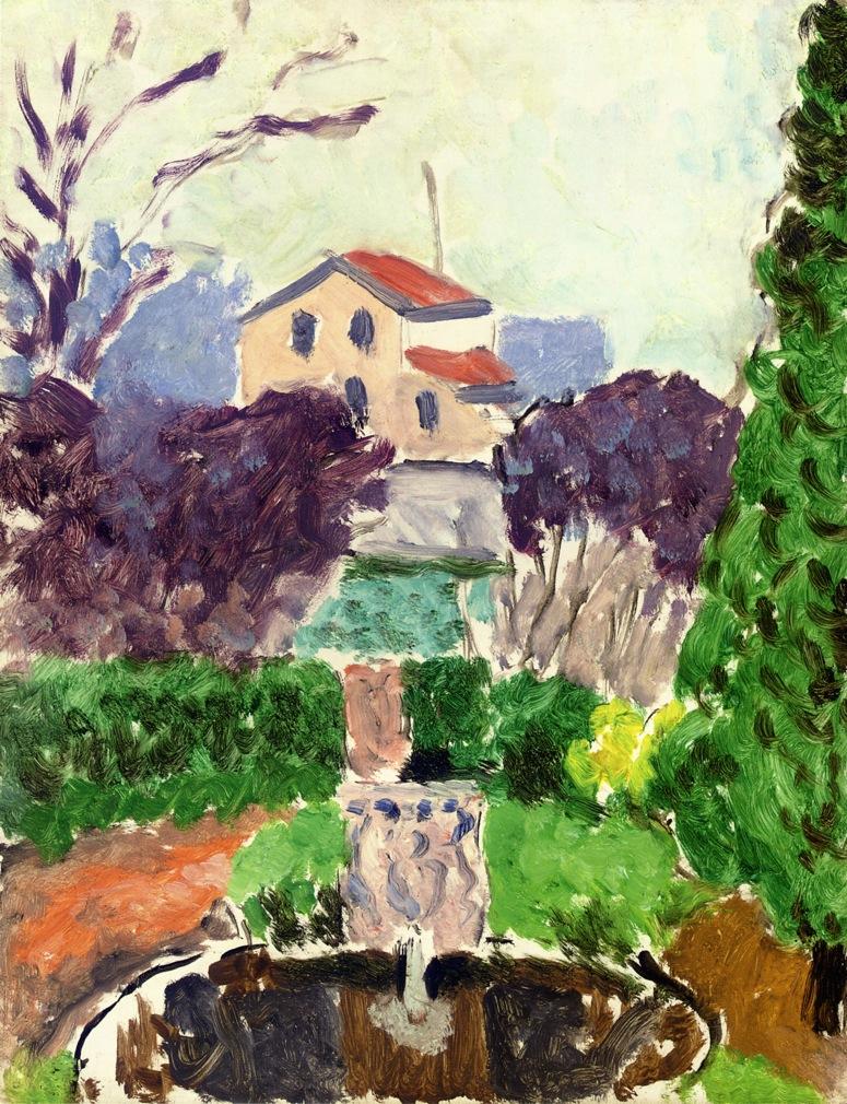 The artist 39 s garden at issy les moulineaux henri matisse - Jardin botanique issy les moulineaux ...