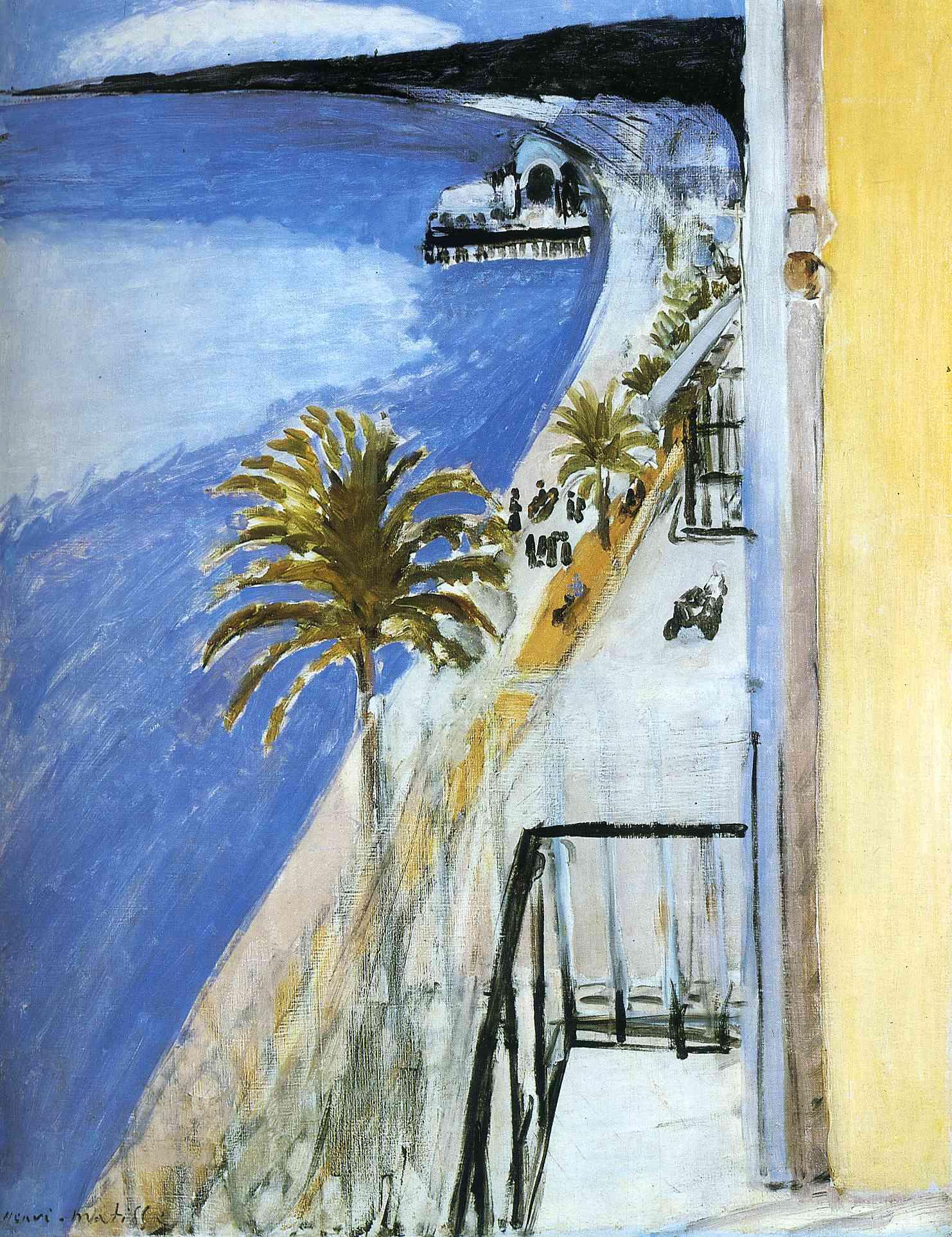 The bay of nice 1918 henri matisse for Henri matisse fenetre