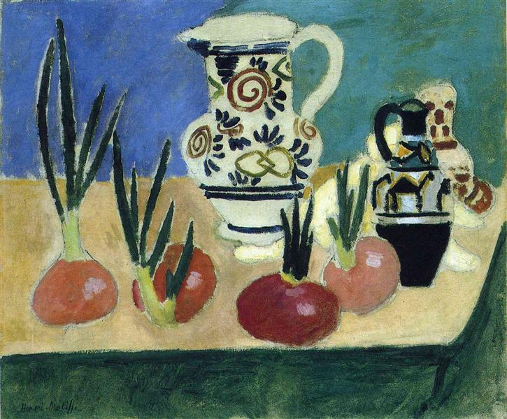 The Red Onions, 1906 - Henri Matisse
