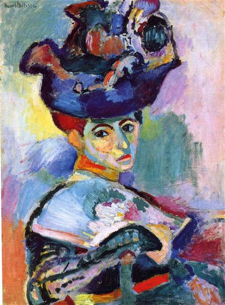 Woman with a Hat, 1905 - Henri Matisse