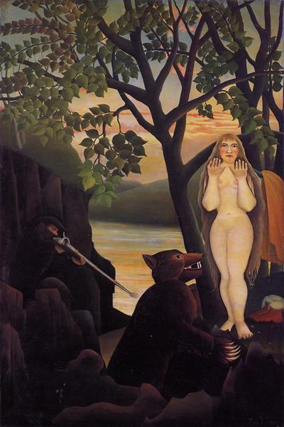 Nude and Bear, 1901 - Henri Rousseau
