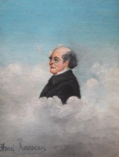 Portrait du pere del`artiste - Henri Rousseau