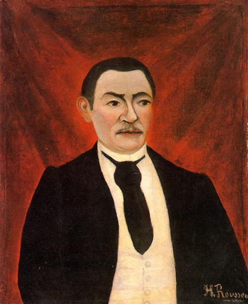 Portrait of Monsieur S, 1898 - Henri Rousseau