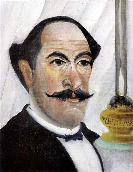Self portrait, 1900 - Henri Rousseau