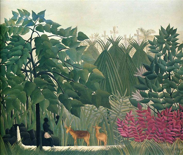 The Waterfall, 1910 - Henri Rousseau