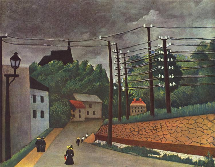 What Type Of Art Did Henri Rousseau Paint