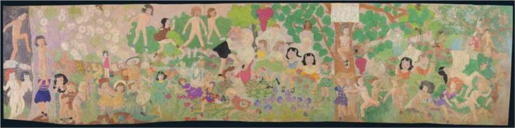 Picture One. This Scene Here Shows the Murderous Massacre - Henry Darger