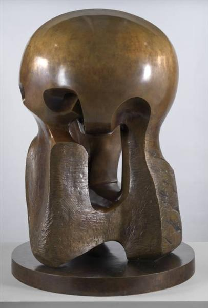 Atom Piece (Working Model for Nuclear Energy), 1964 - Henry Moore