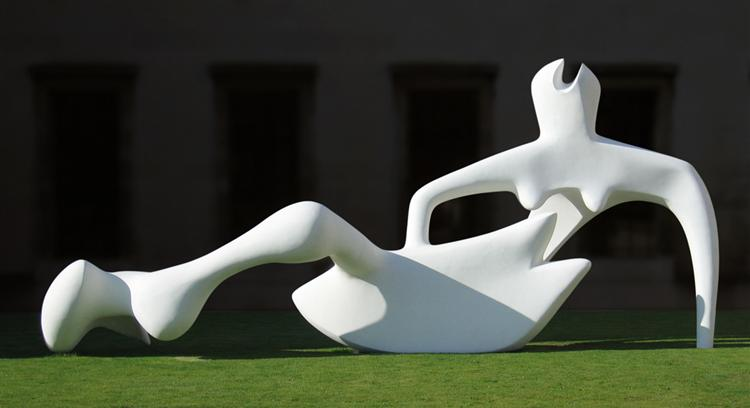 Reclining Figure, 1951 - Henry Moore