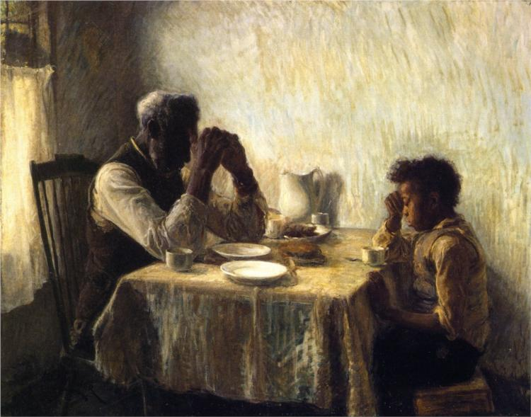 The Thankful Poor, 1894 - Henry Ossawa Tanner