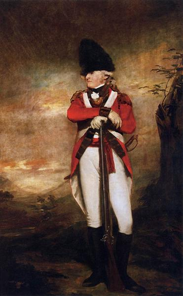 Captain Hay of Spot, 1800 - Генри Реборн