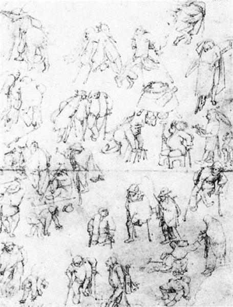 Beggars - Hieronymus Bosch