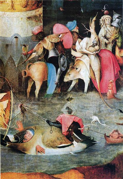 Group of Victims, 1500 - Hieronymus Bosch