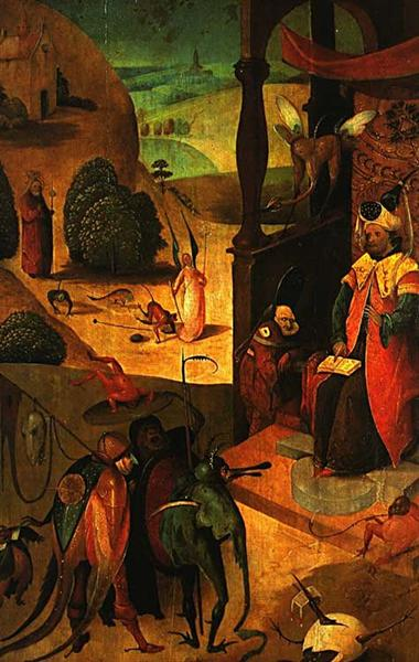 St. Jacob and the magician - Hieronymus Bosch