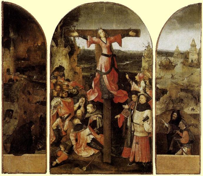 St. Liberata Triptych, 1500 - 1504 - Hieronymus Bosch