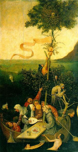 The Ship of Fools, 1490 - 1500 - Hieronymus Bosch