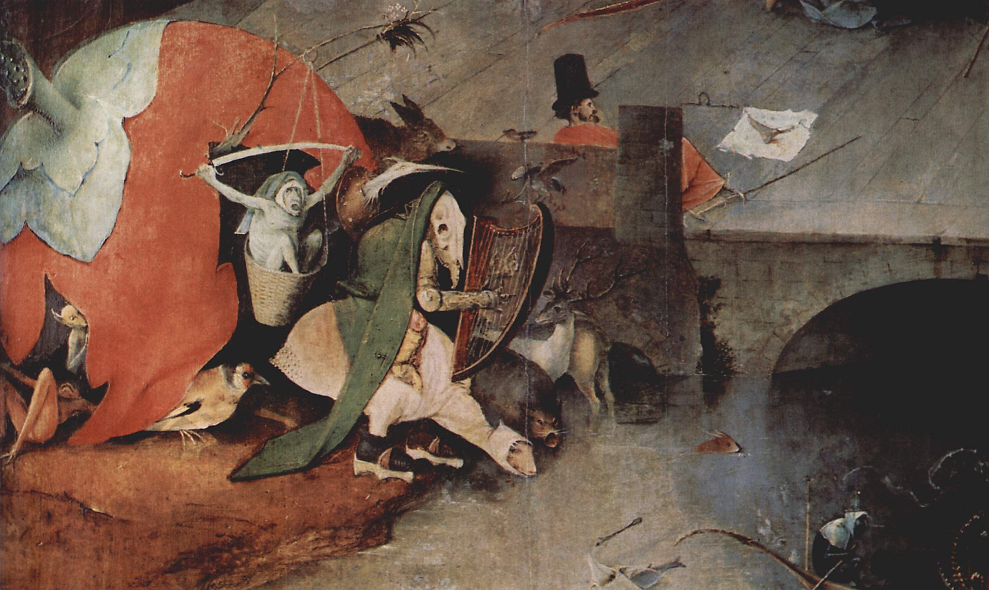 Bosch the temptation of st anthony